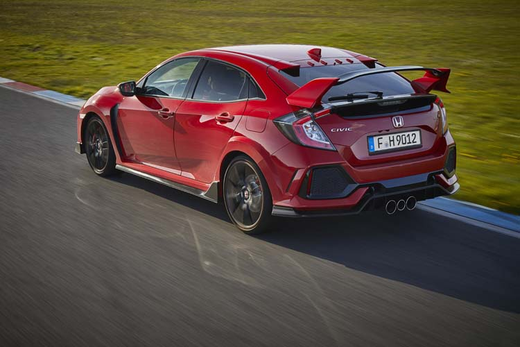 2017 Honda Civic Type R 13